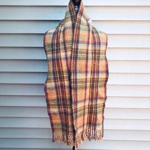 Polo Ralph Lauren Plaid Wool Scarf